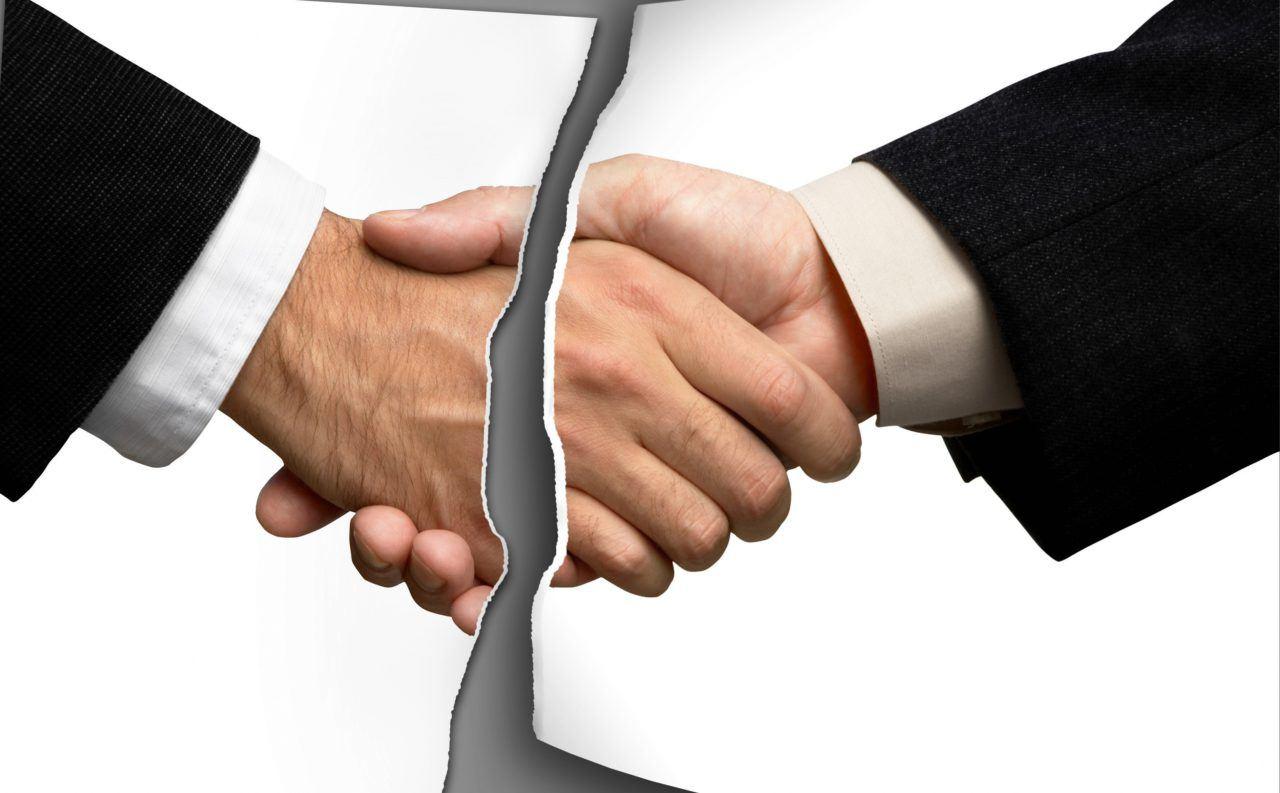 расторжение договора картинка